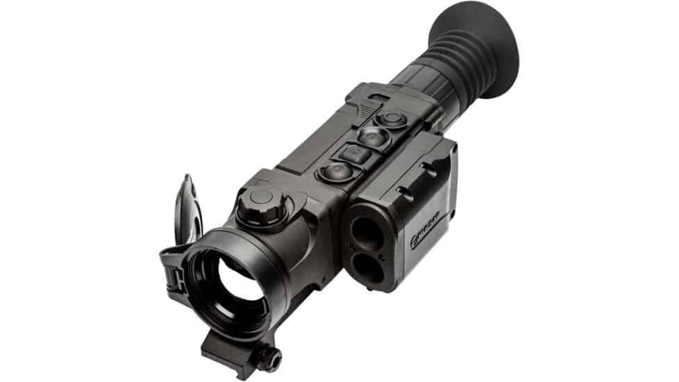 Pulsar Trail 2 LRF XP50 Thermal Riflescope quarter view right
