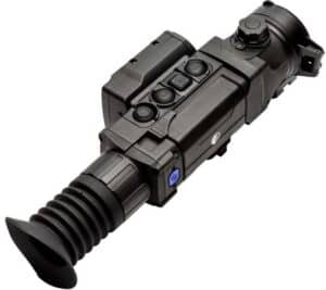 Pulsar Trail 2 LRF XP50 Thermal Riflescope top view left
