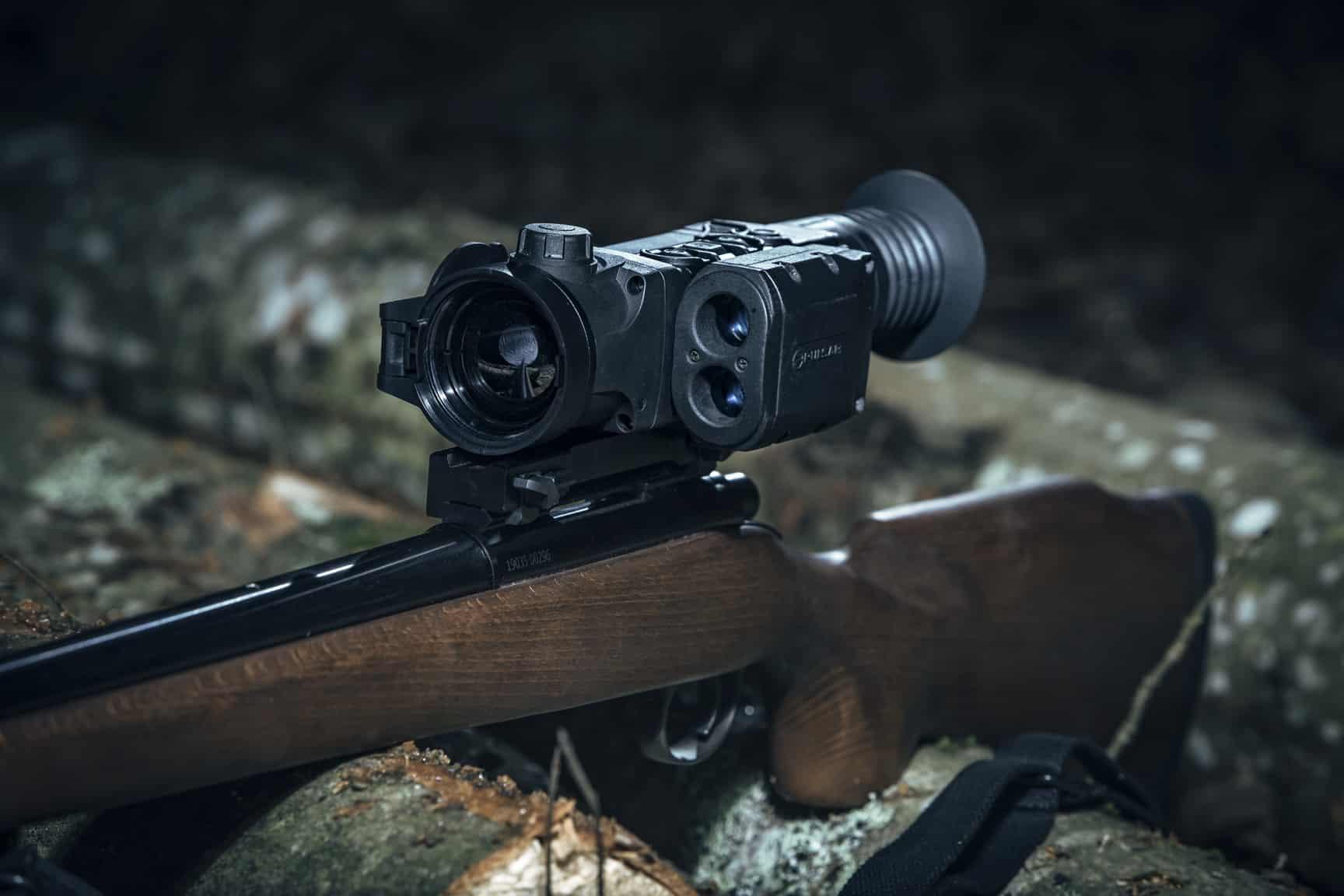 Pulsar Trail LRF XQ50 Thermal Riflescope shooting 19