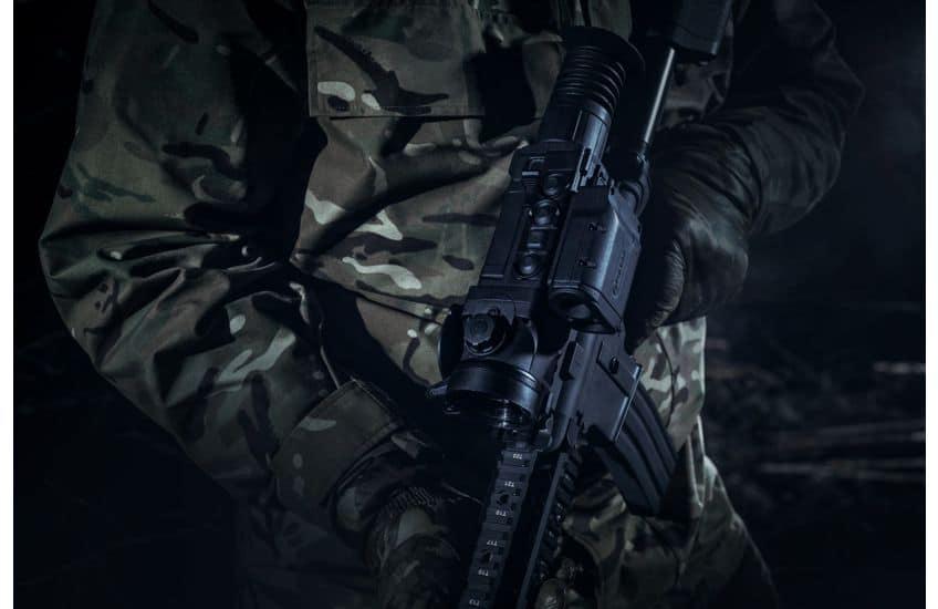 Pulsar Trail LRF XQ50 Thermal Riflescope shooting 5