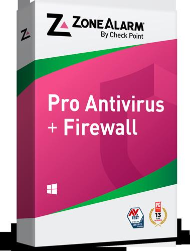 ZoneAlarm Pro Antivirus + Firewall front